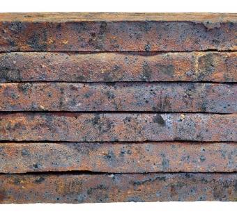 Ригельный кирпич ручной формовки #10 Сафоновский