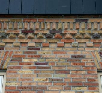Кирпич ручной формовки Vogelensangh Steenfabriek Canne deest multicoloured yellow bronze