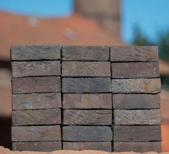Кирпич ручной формовки Vogelensangh Steenfabriek Rosta dark brown black sintered