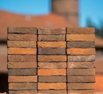 Кирпич ручной формовки Vogelensangh Steenfabriek Rosta light medium brown sintered