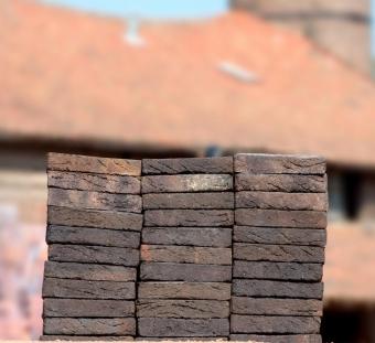 Кирпич ручной формовки Vogelensangh Steenfabriek Rosta medium dark brown blend