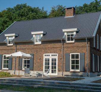 Кирпич ручной формовки Rosta sintered medium dark brown Vogelensangh Steenfabriek