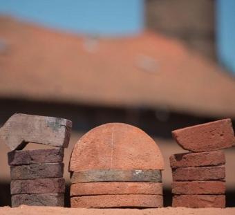 Кирпич ручной формовки Vogelensangh Steenfabriek Various shapes of brick