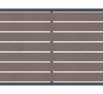 Металлический забор Bursztyn