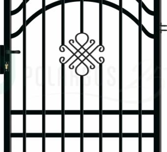 Металлический забор Greta Lux 3