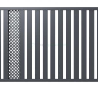 Металлический забор Hanower