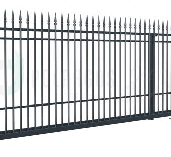 Металлический забор Portland