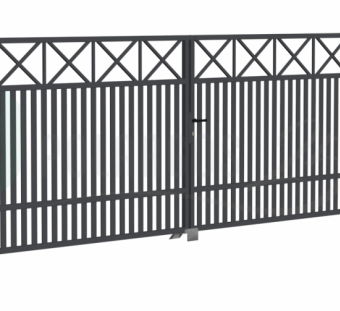 Металлический забор Windsor