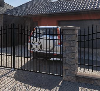 Металлический забор Malaga 3